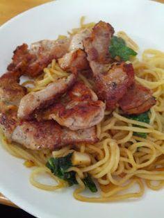 Sake And Chips: Pork and Noodles