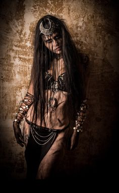 Enchantress Outfit top headband belt Rave wear by RichMahoganyLife