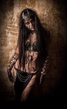 Enchantress Outfit top headband belt Rave wear by RichMahoganyLife Dark Fantasy Art, Dark Art, Fantasy Witch, Halloween Outfits, Enchantress Costume, Harley Quenn, Mujeres Tattoo, Fantasy Photography, Maquillage Halloween
