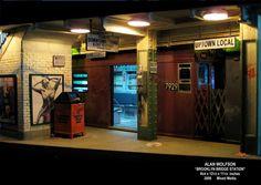 "MODELISMO Y MODELISTAS ""THE MASTERS"" II (ANEXO DIORAMA): ""Brooklyn Bridge Station"" by Alan Wolfson"