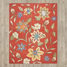 You'll love the Canon Hand-Hooked Rust Area Rug at Wayfair - Great Deals on all Décor products with Free Shipping on most stuff, even the big stuff.