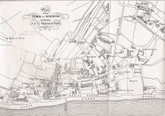 1890 Bognor Map Family Tree Research, Bognor Regis, Butlins, Timeline Photos, Old And New, Meet, Child, Retro, Places