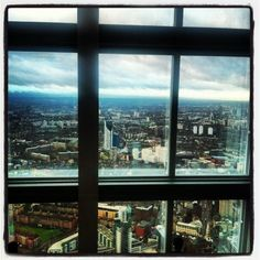 View through the window - London's Shard