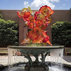 Image result for Chihuly sculptures at NY Botanical Gardens 2017