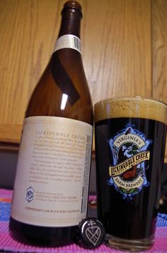 Lickinghole Creek Craft Farm Brewery - recently named as Virginia's most underrated brewery - Coffee Obsession, Imperial Chocolate Stout, 11.5% ABV