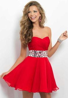 Love this dress! Maybe a thinner belt of rhinestones