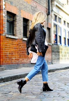 Is THIS New Denim Style Replacing Your Skinny Jeans? via @WhoWhatWear
