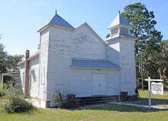 Needwood Baptist Church and School in Glynn County, Georgia.