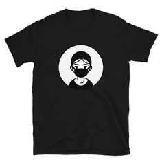 Quarantine Wear Your Mask And Stay Home Unisex T-Shirt Corona T Shirt, Unisex, Trending Outfits, Mens Tops, How To Wear, Shirts, Fashion, Moda, Fashion Styles