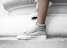 Women only: Vans SK8-Hi mit Zipper. Hier entdecken und shoppen: http://sturbock.me/6YI
