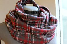 Refresh your wardrobe with a classy infinity scarf! This tutorial leads you through each step to make a double-layered infinity scarf that will keep you warm & stylish as the seasons change.