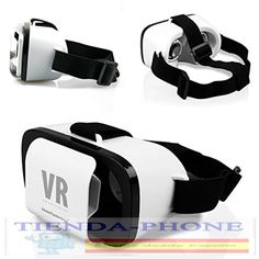 VR LENTE 3D GAFAS DE REALIDAD VIRTUAL PLASTICO IPHONE ANDROID VIDEO JUEGOS x asm