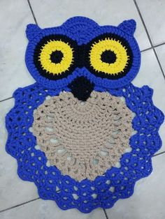 We can find several free owl pattern crochet patterns for those who want to make some to sell or even to have at home.