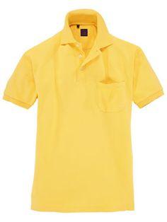 Poloshirt von TOM in Gelb.