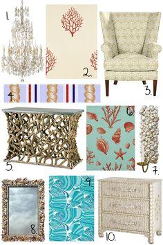 coastal living decor | images of decorating ideas beach decor summertime interior design ...