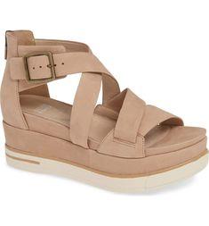 74c9cbb0767 Eileen Fisher Boost Wedge Sandal. Joseph