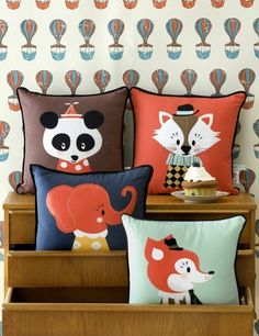 Marionette Cushions www.roseandgrey.co.uk