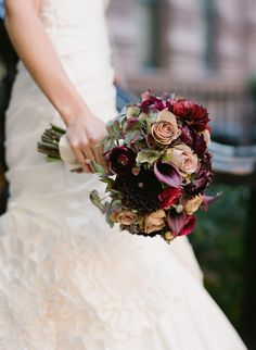 Romantic #Winter #Bouquet |  Floral Design: Mimosa Floral Design Studio | Photography: Carmen Santorelli