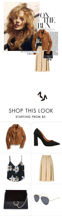 """""""Zaful 18"""" by sinsnottragedies ❤ liked on Polyvore featuring Exclusive for Intermix, Miss Selfridge and Chloé"""