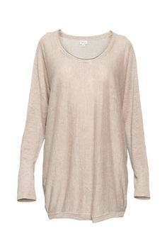 Wilfred linen sweater from Aritzia! Stretches out a bit so a size smaller would for better!