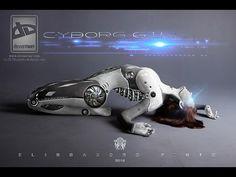 Speed Art photoshop Cyborg Girl 2