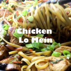 Chicken Lo Mein – make your own take out at home with this super easy Chinese chicken lo mein recipe. Full of lots of veggies, 20 minutes, and dinner is done! lo mein recipe chinese food sauces Chicken Lo Mein - Dinners, Dishes, and Desserts Paleo Snack, Easy Dinner Recipes, Easy Meals, Dinner Ideas, Asian Recipes, Healthy Recipes, Chinese Recipes, Lo Mien Recipes, Easy Chinese Chicken Recipes