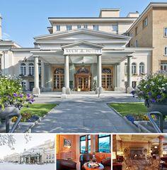 Cet élégant hôtel de luxe se trouve à Saint-Moritz, à proximité du musée Seganini et à tout juste 1 km des transports publics.