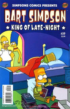 Cover for Simpsons Comics Presents Bart Simpson (2000 series) #59