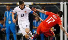 Chile ganó 2-0 a Colombia y jugará la final de la Copa América LLE LA CRONICA del partido, click -> http://soloparatiradio.com/?p=10444 -@soloparatiradio
