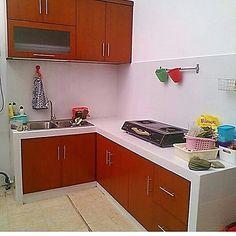 Meja bar di dapur rumah minimalis gambar 715 home for Kitchen set aluminium sederhana
