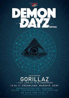 GoRockfest.Com: Gorillaz Tour Dates 2017