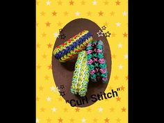 """Curl Stitch"" Rainbow Loom Bracelet/How To - YouTube"