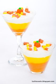 Kathie Cooks...: Candy Corn Pudding