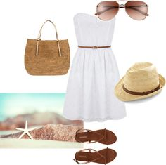 Beachyy, created by megurs on Polyvore