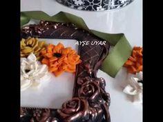 Aplike nakışı çiçek yapımı (applique embroidery )
