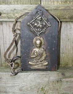 Vintage Tibetan Ghau / Gau by look4treasures on Etsy, $54.95