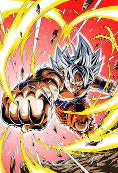 Ultra Instinct by Youngjijii Dragon Ball Z, Dragon Ball Image, Minato Y Kushina, Foto Do Goku, Ball Drawing, Dbz Vegeta, Goku Meme, Goku Ultra Instinct Wallpaper, Dragonball Wallpaper