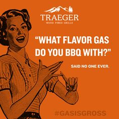 No one wants to infuse their food with gas or charcoal. BBQ pros use rich, hardwood smoke — the safer and tastier alternative to traditional grilling. With 8 different flavors of 100% all-natural hardwood pellets, Traeger delivers unmatched flavor.