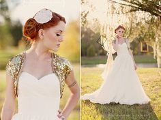 Shannon Nicole Smith, photographer.   I love these photos, but also the sequin bolero and the dress. everything is gorgeous.