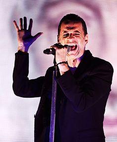 Dave Gahan of Depeche Mode during TOTU