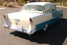 1955 CHEVROLET 210 CUSTOM 2 DOOR HARDTOP - 81354