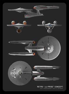 There is always significant debate regarding the design of the latest incarnation of the USS Enterprise. In fact, the issue is highly controversial among hardcore purists and veteran fans alike. Star Trek 2009, Star Trek 1, Star Trek Ships, Uss Enterprise Ncc 1701, Star Trek Enterprise, Vaisseau Star Trek, Starfleet Ships, Star Trek Beyond, Star Trek Starships