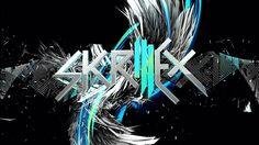 3D Dubstep Skrillex Logo