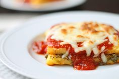 Polenta on Pinterest | Fried Polenta, Polenta Recipes and Polenta ...