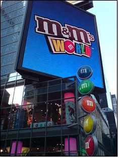 M&M's World, 1 Swiss Court, Leicester Square, London W1D. Got to go back with the kids!