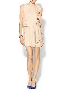 Super Cute for bridesmaid or rehearsal dinner .... Haute Hippie Sleeveless Tuck Dress | Piperlime