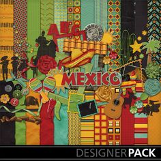 MEXICO: Going on a Deaf mission trip to Mexico? Scrapbook your trip! (digital scrapbook kit)