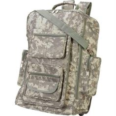 19″ Dig Camo Rolling Backpack – Style LUBPRCDC