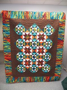 Darling Jill Quilts Stars on Fire - Scrap Squad #5 from QuiltMaker's Nov/Dec issue pattern Bella Amore