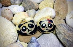 There are two cute lovers pandas and they are always and everywhere together, unfortunately, I can not sell them separately since they can not live without each other. Unless you give a panda to your second half and the other keep with you. This pair of Pandas brings love and harmony in the house.    - This pair of pandas can be used for decoration your home or you can present him to dear friend :))    - It measures roughly Panda-Boy: 1.5 x 1.2 (3,7 x 3,1 cm) and Panda-Girl: 1.5 x 1.1 (3,2 x…